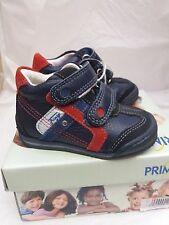 Infant/Toddler Primigi Brand Pre-Walker Shoes in Blue/Red Size EU 20/UK 4