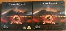 4CD/DVD David Gilmour - Live at Pompeii digipak 2 CD set & 2 DVD set