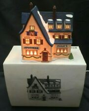 Department Dept 56 Christmas Apotek And Tabak Alpine Village Series Heritage Mib