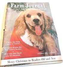 FARM JOURNAL AND COUNTY GENTLEMAN December 1955 Vintage Magazine