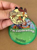 Original SLINKY Dog- Watch Me Stretch! Toy Story 2019 Disney Pin Limited LR