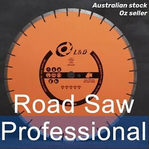 19inch 27HP To 48HP Professional Laser welded Road Saw Diamond Blade / Concrete