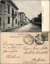 S.Giustino, Perugia, viale del mercato, animata, viaggiata1913