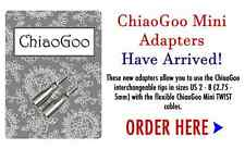 ChiaoGoo Mini IC Cable Adapters  2501-AM