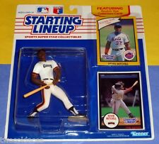 1990 KEVIN MITCHELL San Francisco Giants Starting Lineup + Mets 1986 card NM+