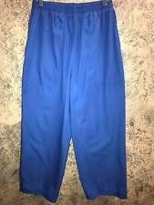 FASHION SEAL 17701 capri short scrubs pants medical dental elastic waist M blue