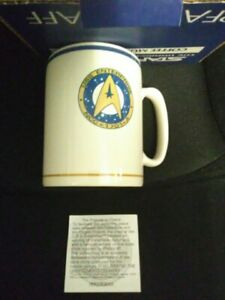 Star Trek VI Coffee Mug Pfaltzgraff New In Box