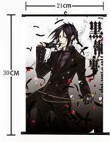 Hot Japan Anime Black Butler Wall Poster Scroll Home Decor 529