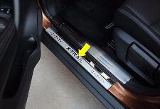 Nissan Rogue X-Trail 2014-2017 Door Sill Scuff Plate Guard Sills Protector