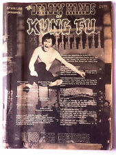 Stan Lee; Deadly Hands of Kung Fu n°2; Bruce Lee, Carradine, Barry Chan, Shang