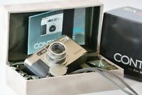 [Mint in Box !] CONTAX TVS 35mm Point & Shoot Zeiss Sonnar from Japan C218