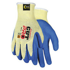 Mcr Safety 96871l Cut Resistant Coated Gloves A4 Cut Level Natural Rubber