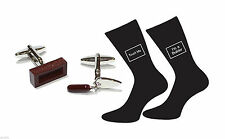 Excellent Builders Cufflinks and Socks Gift Set Builder Gift X2AJ341 - X6S056