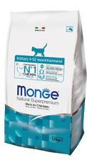 Monge Natural Superpremium Kitten 10 kg Per Gattini