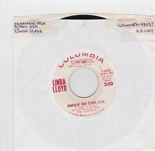 Linda Lloyd: Heartache High School U.S.A / DJ Copy 60's Female 45RPM