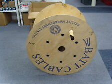 Vintage/Retro Wood Round No Assembly Required Coffee Tables