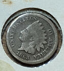 1863 Indian Head Cent Penny 1C Civil War Date US Coin