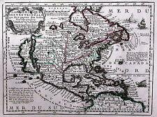 Antique map, L'Amerique Septentrionale