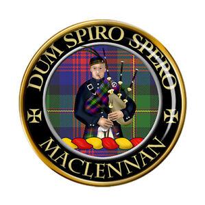 Maclennan Scottish Clan Pin Badge