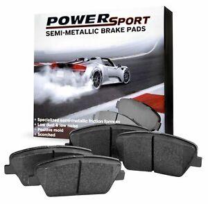 For 2008 Saturn Astra PowerSport Front Semi-Metallic Brake Pads
