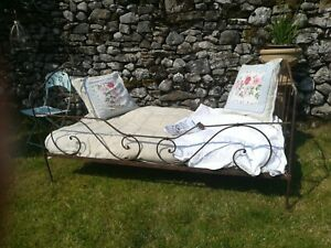 Large Garden Bed Heavy Cast Iron Delivery available Day Bed 195cm L 105cm W