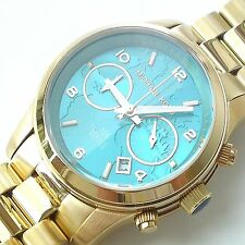 MICHAEL KORS BIG WATCH HUNGER STOP 100 MEALS DAMENUHR MK8315 TÜRKIS TURQUOISE