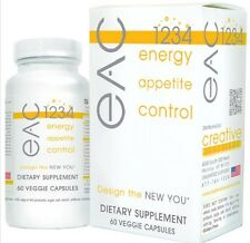 CREATIVE BIOSCIENCE EAC 1234 ENERGY APPETITE SUPPRESSANT WEIGHT LOSS DIET EX2/18