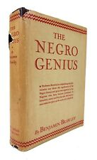 Benjamin Brawley - The Negro Genius - FIRST EDITION in Dustjacket - 1937