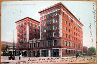 1908 Birmingham, AL Postcard: Hotel Hillman - Alabama Ala