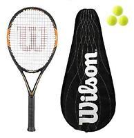 Wilson Nitro Lite 105 BLX Graphite Tennis Racket + BLX Cover + 3 Balls RRP £160