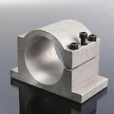 80mm Diámetro CNC Motor del Eje Soporte Soporte De Montaje Abrazadera de +3 piezas de tornillos 8mm
