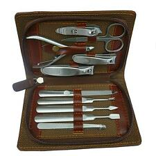 **Great Gift** -- Quality Stainless Steel Manicure  Pedicure Tool Kits - 10 in 1
