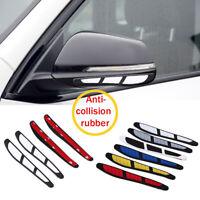 4Pcs White Car Door Anti-collision Strip Edge Guard Scratch Protector Trim Decor