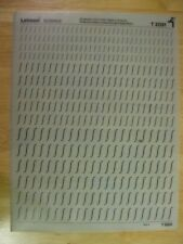1 x Letraset Science Sheet T 2031  Very Rare