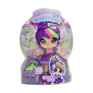 Bubble Trouble! Grape Fun Doll Set Features Stretchy, Scented Hair And Soft F1