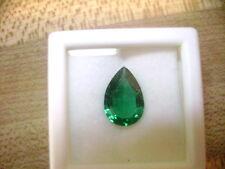 Lab Grown Emerald Pear Shape 6mm x 4mm Lot of 4 Stones Ebays Best Deal