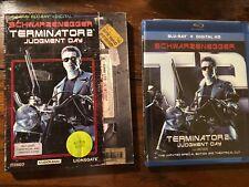 Terminator 2 Judgement Day Blu-ray/Digital Retro VHS VINTAGE Slipcover OOP HTF