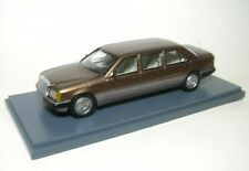 Mercedes-benz W124 Long Brun 1 43 Neo
