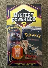 Pokemon Mystery Power Box [5 Booster Packs, 2 Mystery, 1 Coin, 1 Code Card]