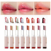 Two-tone Tint Lip Bar Long Waterproof Lasting Color change Lipstick Lip Balm 3g