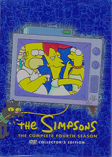 The Simpsons Complete Fourth Season BRAND NEW, BUT UNSEALED! Region 1  (24 Eps)