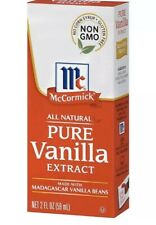 McCormick Pure Vanilla Extract All Natural - 2 Oz - Pack of 12
