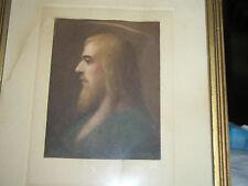 Antique Christian Engraving of Jesus ~pub.Edward Gross Co Inc. NYC~Paul Handrich