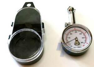 Manomètre 0-4,Béquille,0,1 Echelle, Indicateur de Pression de Pneu, Raceparts Cc