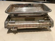 Vintage Tower Sliding Kitchen Scales
