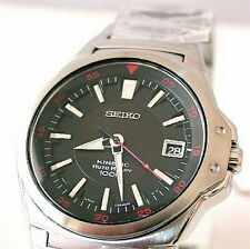 Seiko Criteria Kinetic Auto Relay 100m Men's Watch SMA223P1