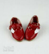 Fatiao - New Lati Yellow Pukifee BJD Dolls Shoes -Love wings (Size 2.6cm) Red