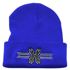 New HK Army Paintball Beanie - Blue with Black Icon