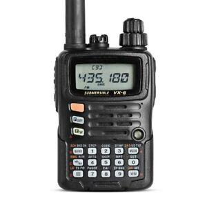 For YAESU VX-6R Dual Band Transceiver UHF VHF Radio IPX7 Mobile Walkie Talkie