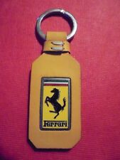 ferrari key chain leather new